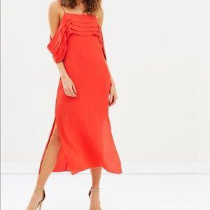 Brand New Stunning Elliatt Azalea Orange Red Dress